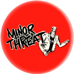 Minor Threat Pin - DeadRockers