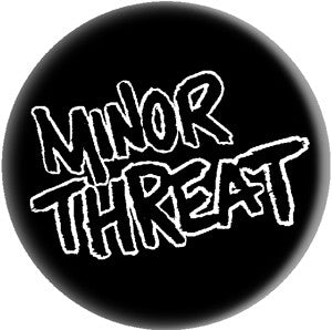 Minor Threat Logo Pin - DeadRockers