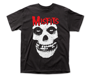 Misfits Red Logo Crimson Ghost Band Shirt