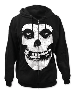 Misfits Fiend Skull Zip Up Hoodie - DeadRockers