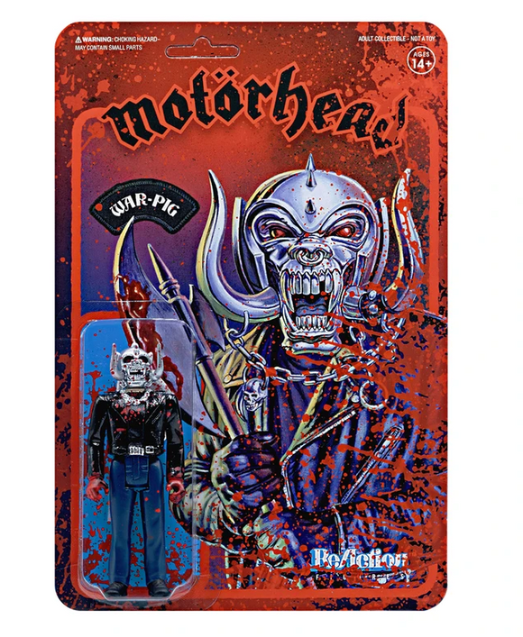 Motorhead Warpig (Bloody) ReAction Figure