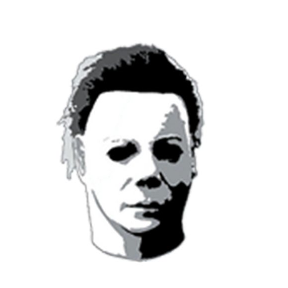 Michael Myers Tilted Head Enamel Pin