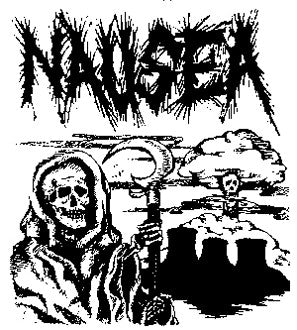 Nausea 'Skull' Patch - DeadRockers