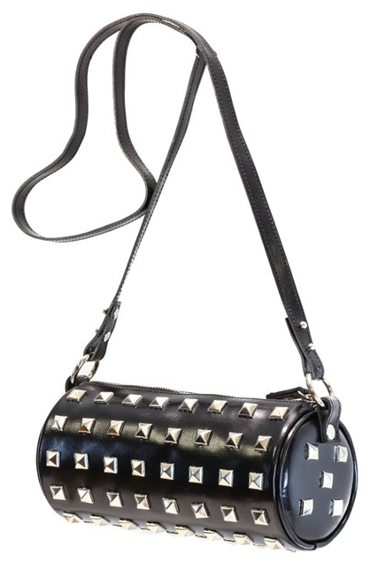 Rollin' Round Studded Bag