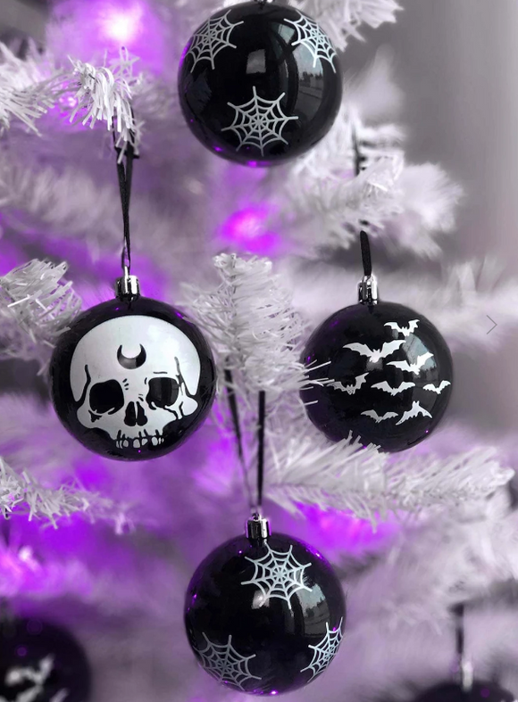 Spooky Hexmas Baubles Ornaments