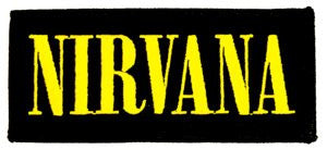 Nirvana Logo Patch