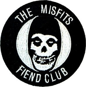 Misfits Fiend Club Patch - DeadRockers