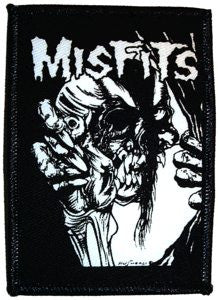 Misfits Skull & Eyeball Patch