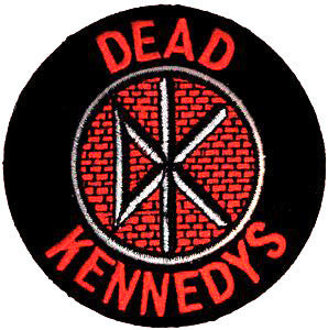 Dead Kennedys Logo Patch - DeadRockers