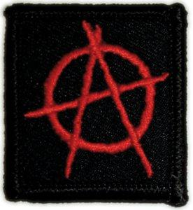 Mini Anarchy Sign Patch