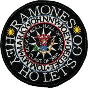 Ramones Presidential Seal Patch