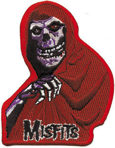 Misfits Red Fiend Patch - DeadRockers