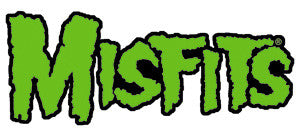 Misfits Green Logo Patch - DeadRockers