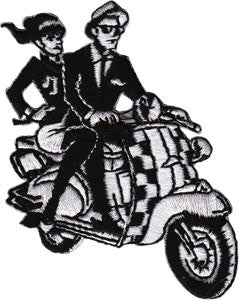 Scooter Kids Patch
