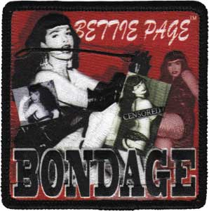 Bettie Page Bondage Patch