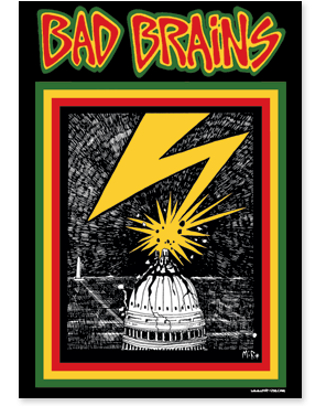 Bad Brains Capitol Poster