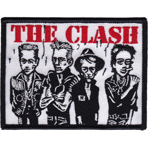The Clash Caricature Patch - DeadRockers