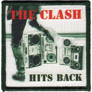 The Clash Hit Back Patch - DeadRockers