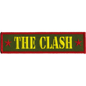 The Clash Army Logo Patch - DeadRockers
