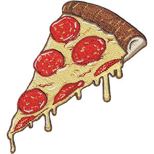 Drippy Pizza Slice Patch - DeadRockers