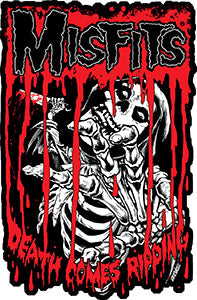 Misfits Death Comes Ripping Patch