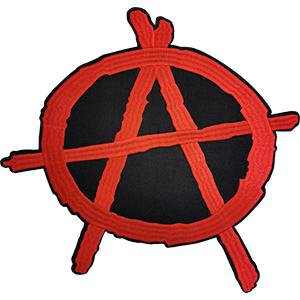 Anarchy Sign Back Patch