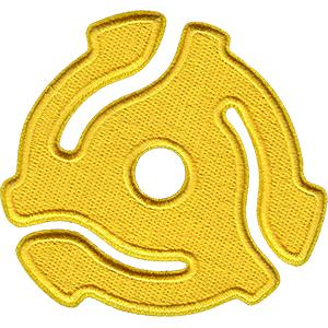 Yellow 45 Adapter Patch