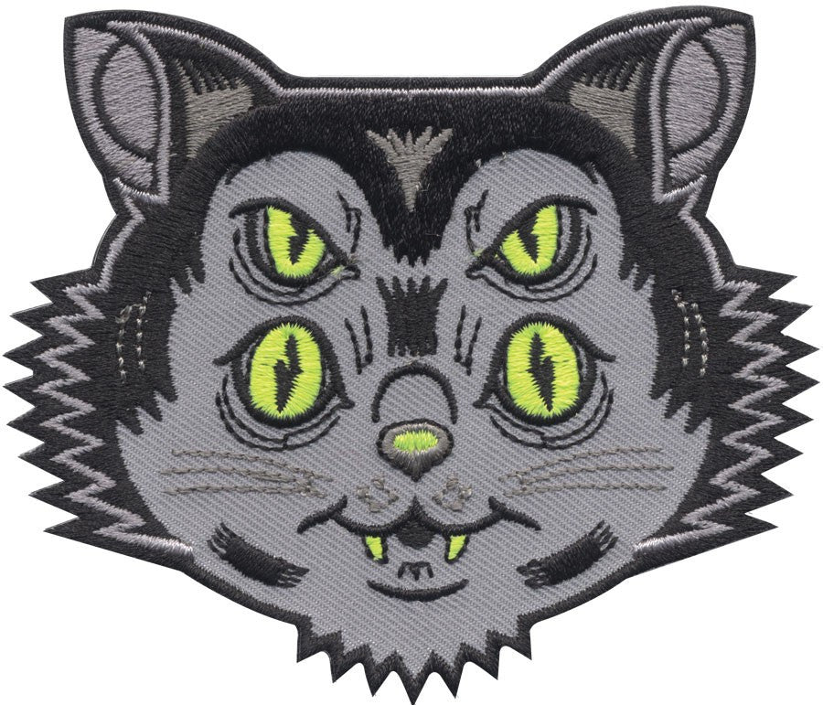 Scuzzball Kitty Cat Patch