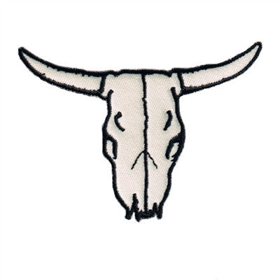 Cow Skull White Patch