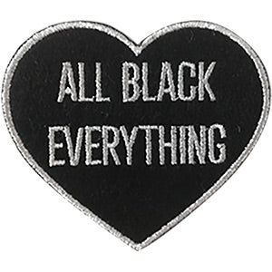 All Black Everything Patch