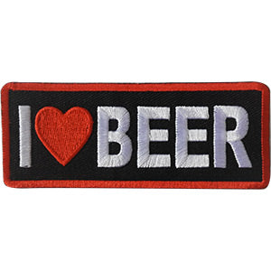 I Love Beer Patch