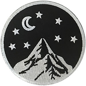 Moon Mountains Stars Patch