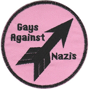 Gays Against Nazis Patch
