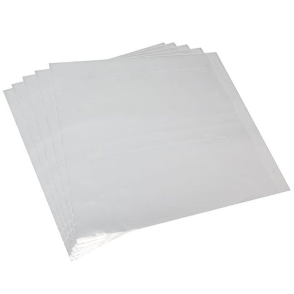 Clear Poly Vinyl Sleeve