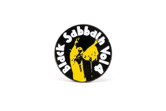 Black Sabbath Volume 4 Enamel Pin