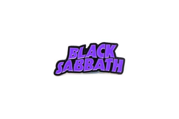 Black Sabbath Master of Reality Logo Enamel Pin