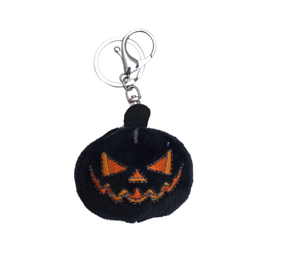 Pumpkin Plush Key Chain