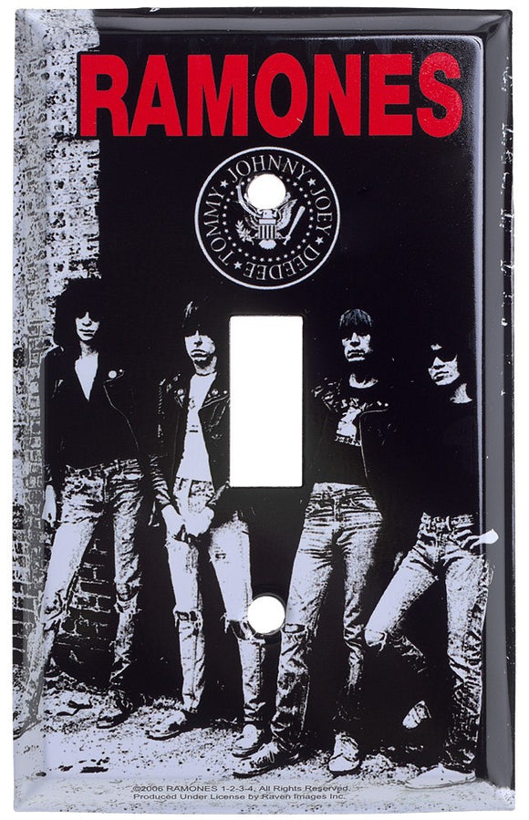 Ramones Light Switch Cover
