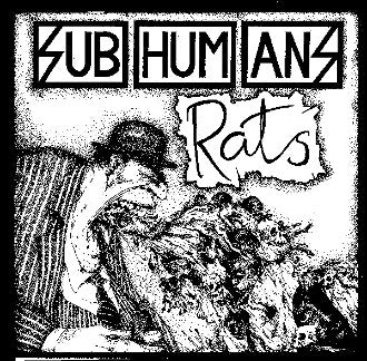 Subhumans Rats Patch