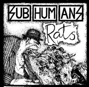 Subhumans Rats Back Patch