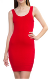 Classic Red Tank Dress