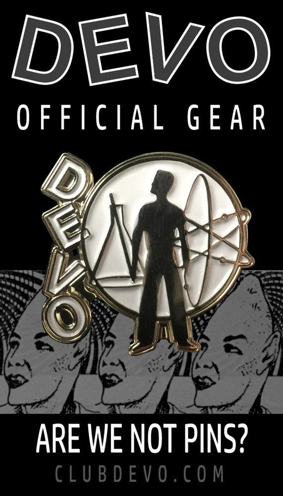 DEVO Student Model Enamel Pin - DeadRockers