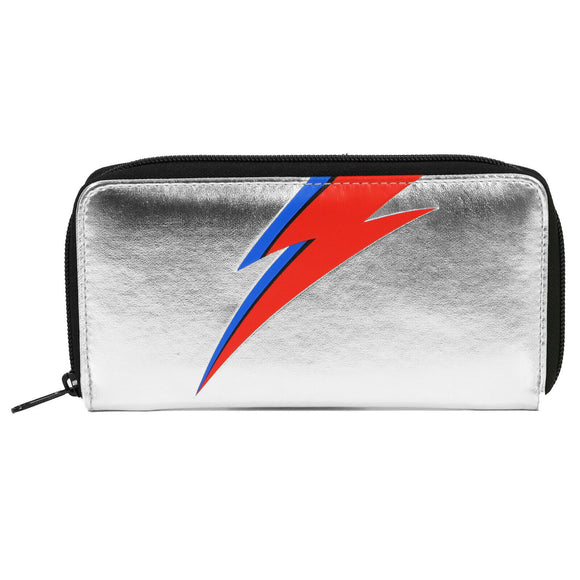 David Bowie Bolt Logo Clutch Wallet