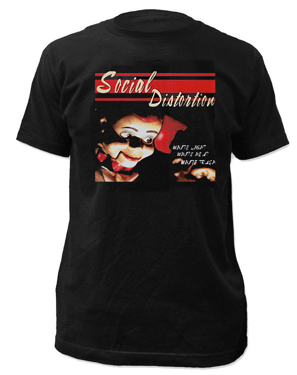 Social Distortion White Trash Shirt