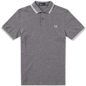 Fred Perry Polo Grey / White
