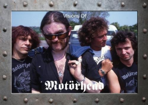 VISIONS OF MOTORHEAD - Book by Alan Perry