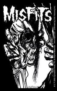 Misfits Eyeball Skull Sticker