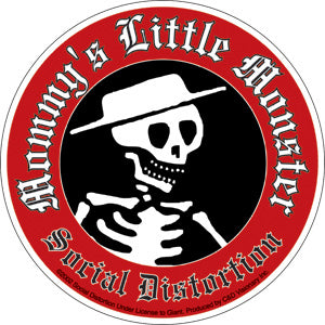 Social Distortion Mommy's Little Monster Sticker