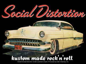 Social Distortion Car Sticker