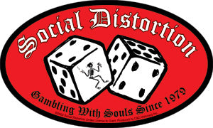 Social Distortion Dice Sticker